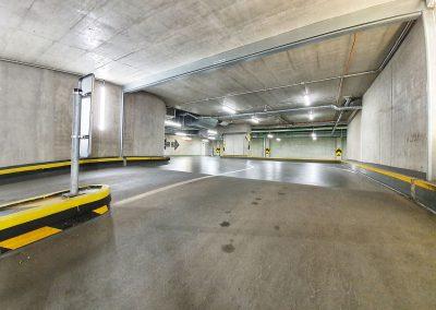 FACTORY OFFICE CENTER - Osvětlení garážových prostor