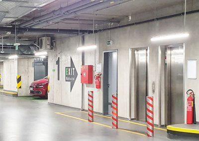 Osvětlení parkovacích prostor