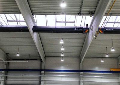 BAST - Osvětlení nové výrobní haly